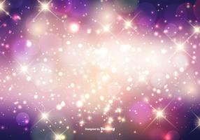 Beautiful Sparkles Background vector