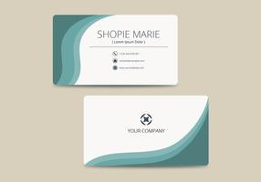 Business Card Template Free Vector Art    32867 Free Downloads  Teal Business Card Template Vector