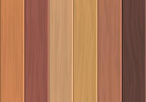 Parquet Boards Of Fine Wood Set vector