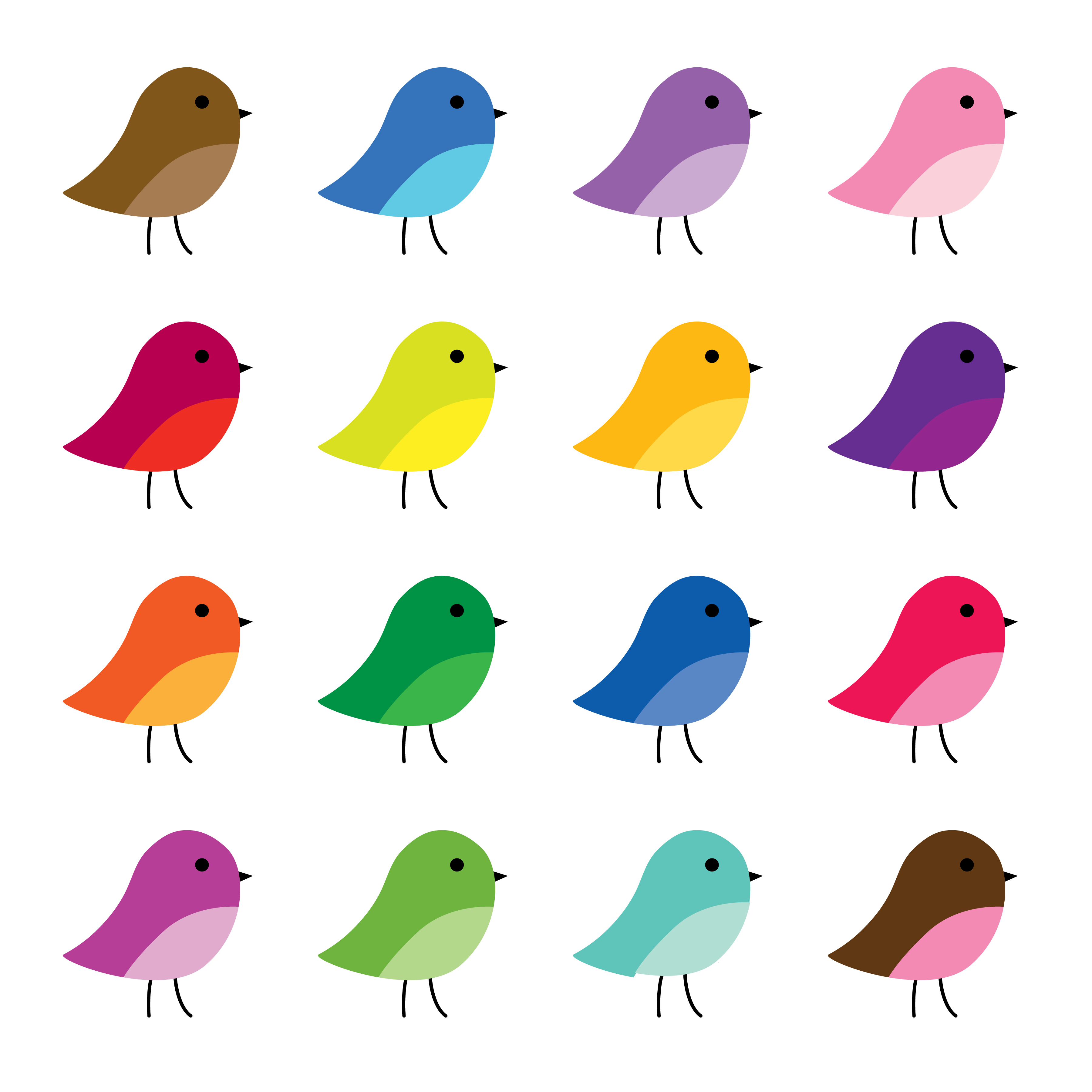 Cute Birds Clipart Graphics Download Free Vectors Clipart Graphics Vector Art