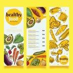 Healthy Food Menu Vector Design Download Free Vectors Clipart Graphics Vector Art