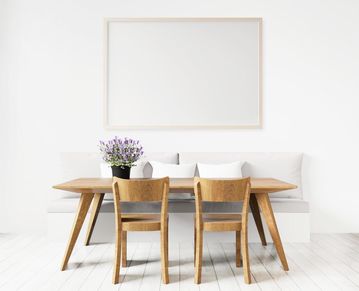 https fr vecteezy com photo 1227280 salle a manger avec art board