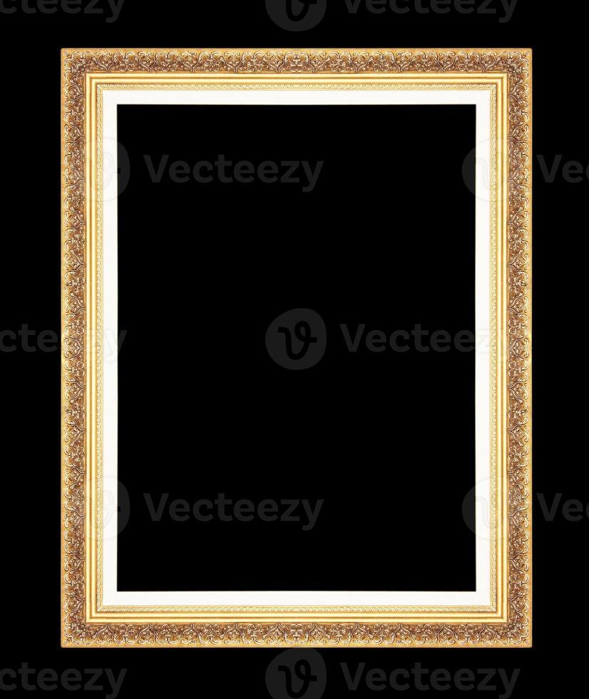 https fr vecteezy com photo 1345884 or vintage cadres isoles sur fond noir