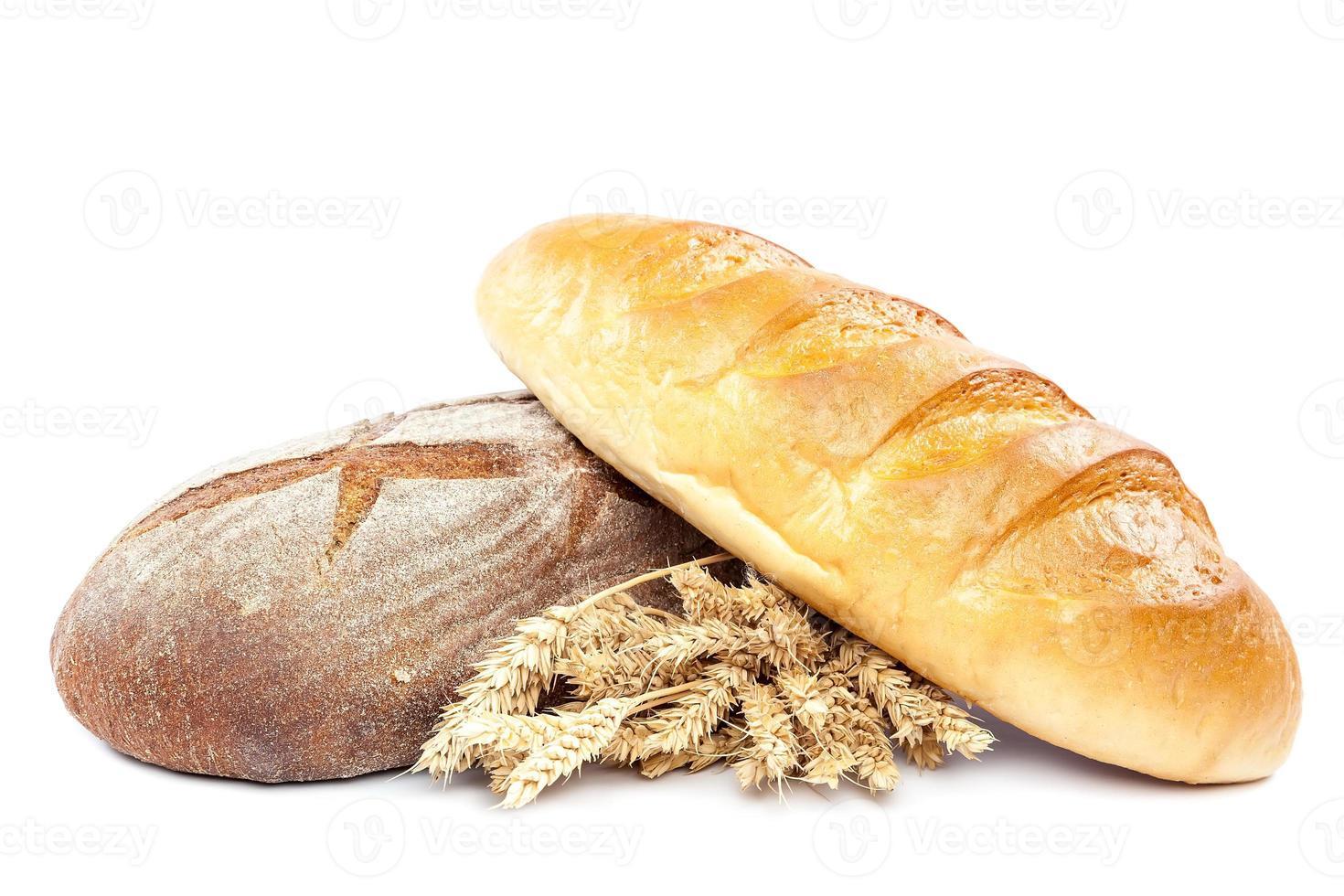 https fr vecteezy com photo 809690 epis de ble et de pain sur fond blanc