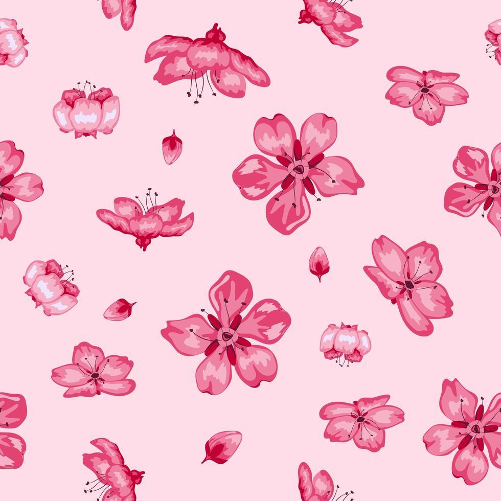 https fr vecteezy com art vectoriel 1950079 sakura fleur fleurs seamless fond