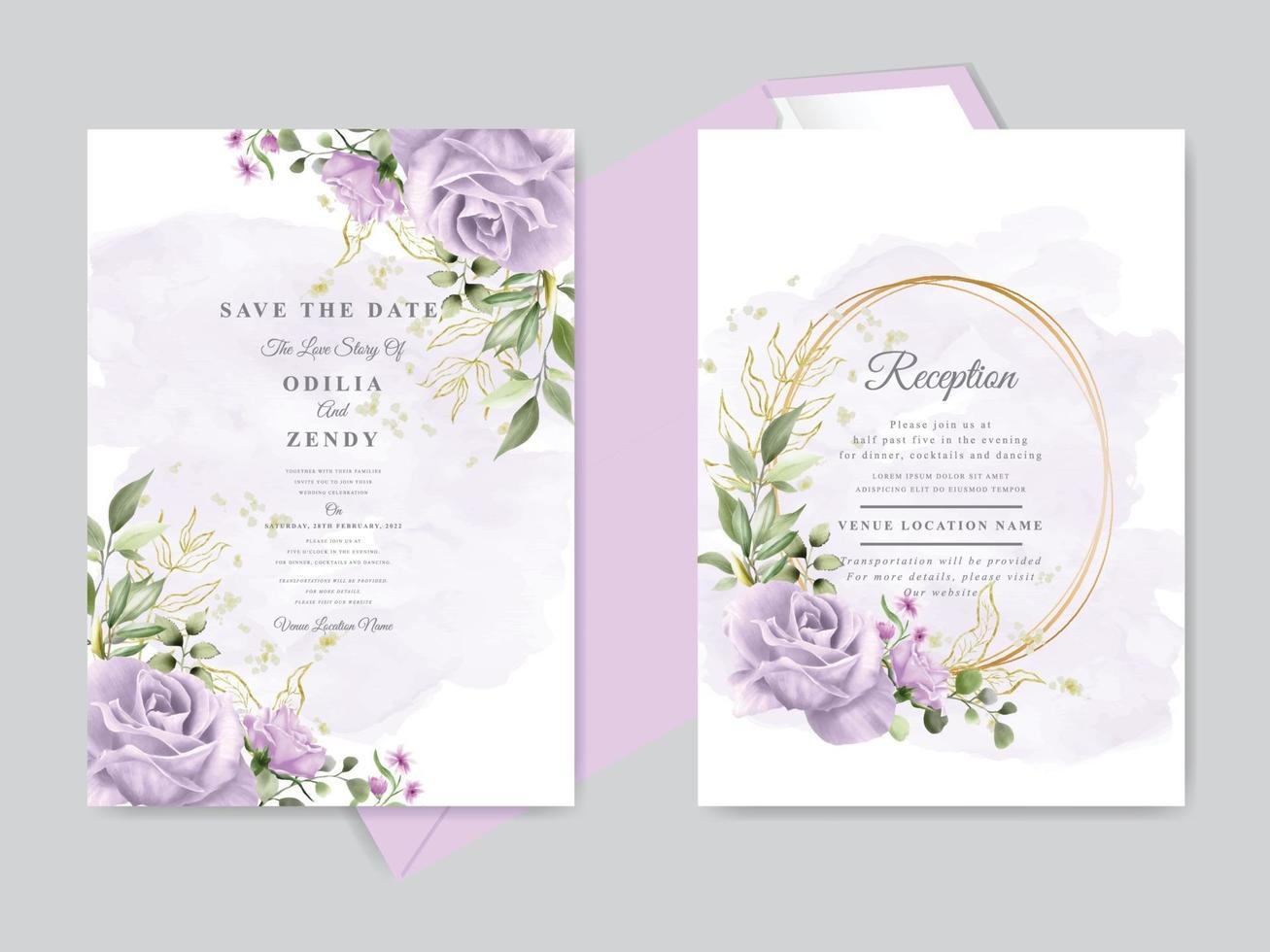https fr vecteezy com art vectoriel 2133910 ensemble de modeles de cartes d invitation de mariage