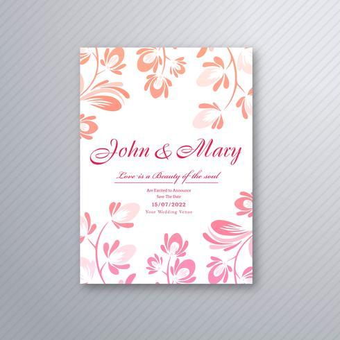 https fr vecteezy com art vectoriel 305280 vecteur de conception de carte d 39 invitation mariage floral decoratif