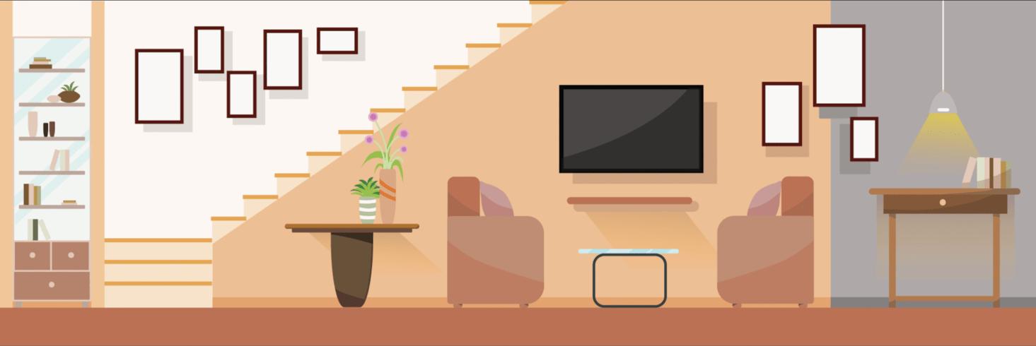 https fr vecteezy com art vectoriel 362972 interieur salon moderne avec meubles illustration vectorielle design plat