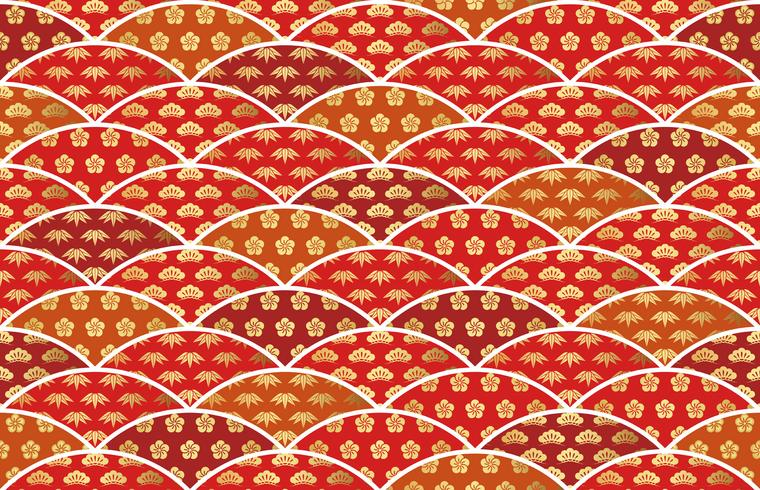 https fr vecteezy com art vectoriel 374846 motif traditionnel japonais de bon augure avec pin bambou et prune
