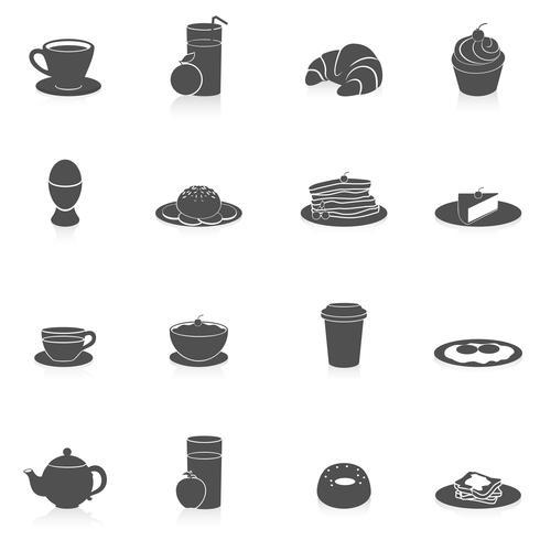 https fr vecteezy com art vectoriel 454432 icones de petit dejeuner noir