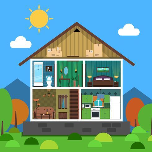 Interieur De La Maison 484946 Telecharger Vectoriel Gratuit Clipart Graphique Vecteur Dessins Et Pictogramme Gratuit