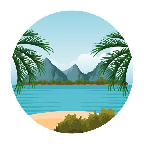 https fr vecteezy com art vectoriel 656990 dessin de paysage de bord de mer