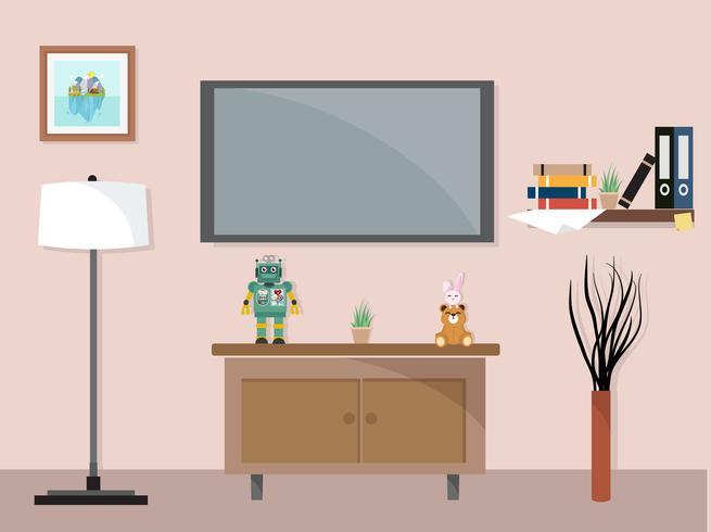 https fr vecteezy com art vectoriel 670835 salon avec meuble tv