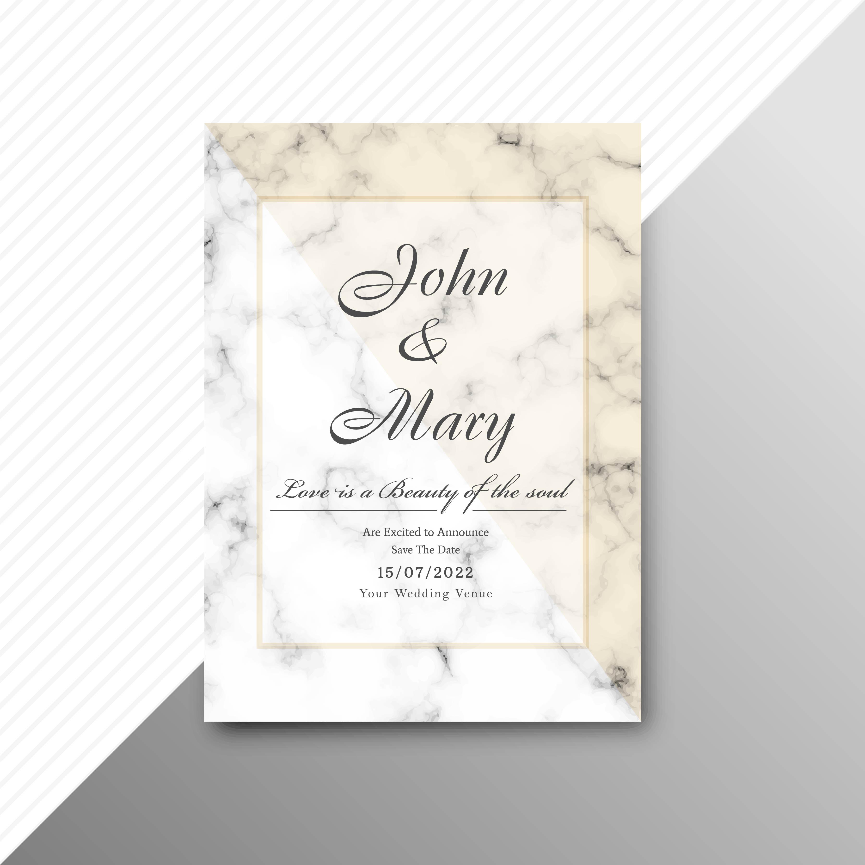 fond de carte invitation mariage