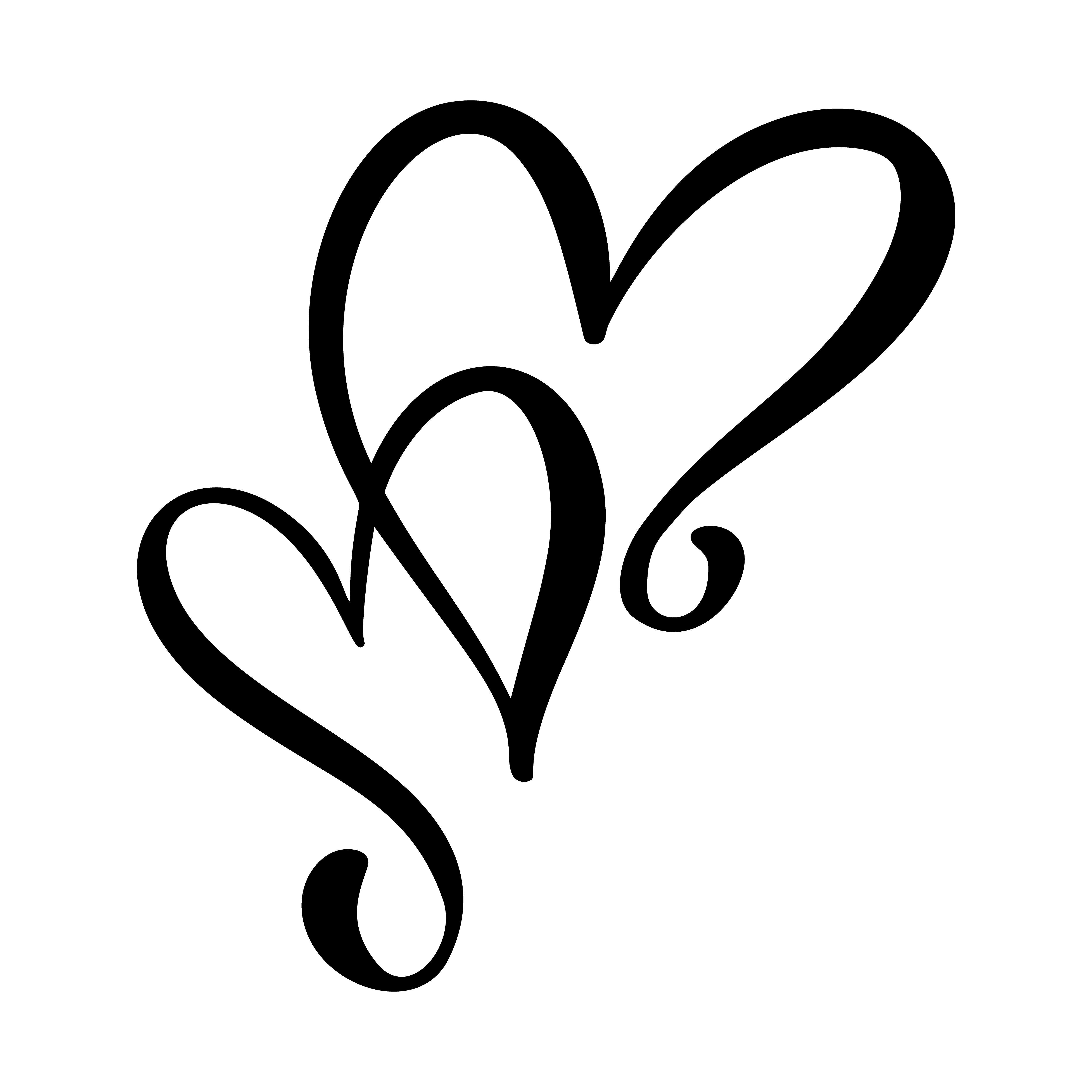 Dessin De Coeurs D 39 Amour Calligraphiques 375946 Telecharger Vectoriel Gratuit Clipart Graphique Vecteur Dessins Et Pictogramme Gratuit
