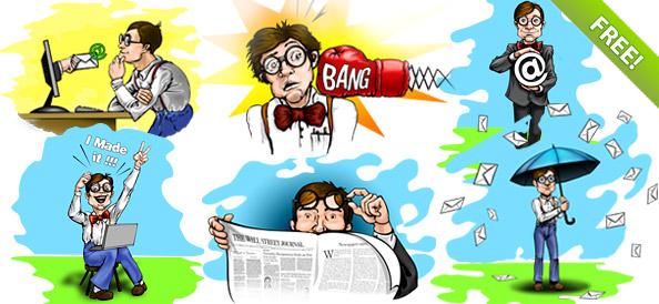 Geek / Nerd Characters
