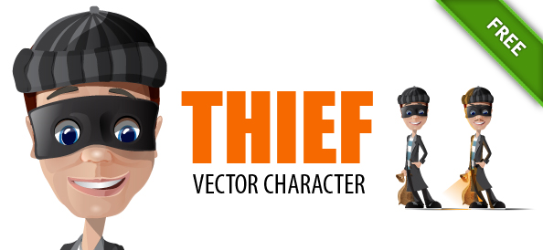 Thief Vector Characters
