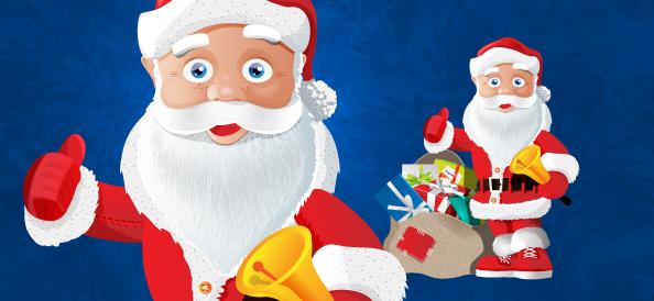 Santa Claus Vector Character