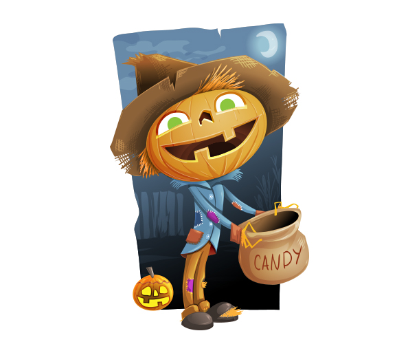 Free Halloween Vector Illustration