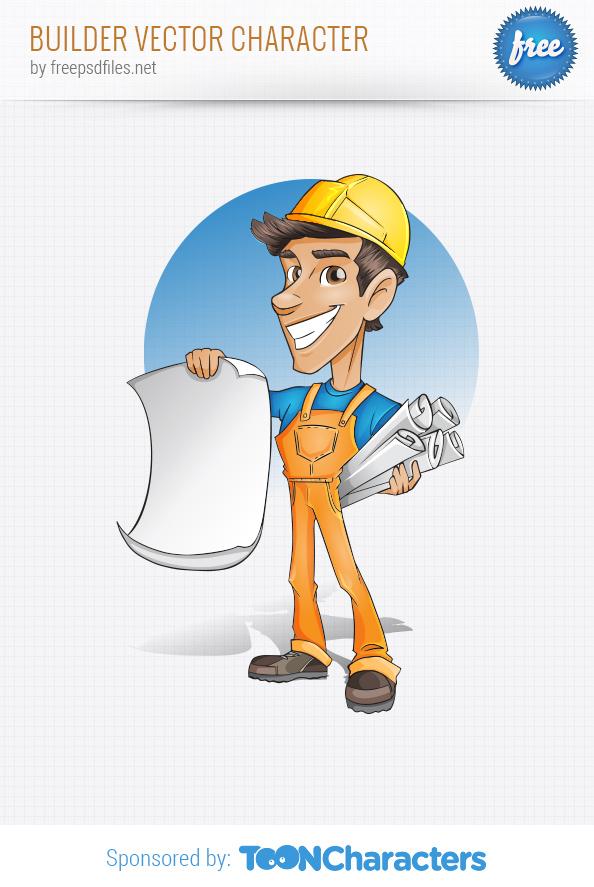 Builder Vector Character
