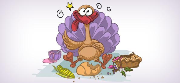 Full Turkey Vector Character