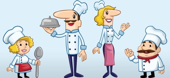 Chef Vector Character Set Vol1