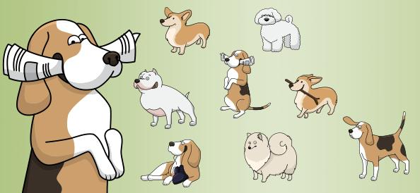 Vector Dogs vol.2