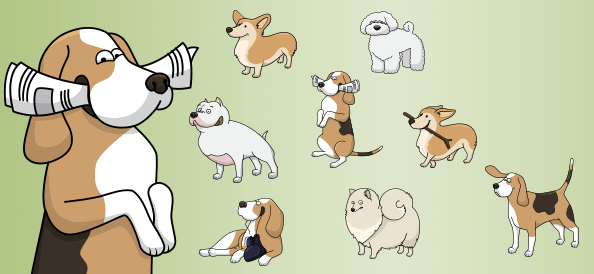 Vector Dogs vol.2