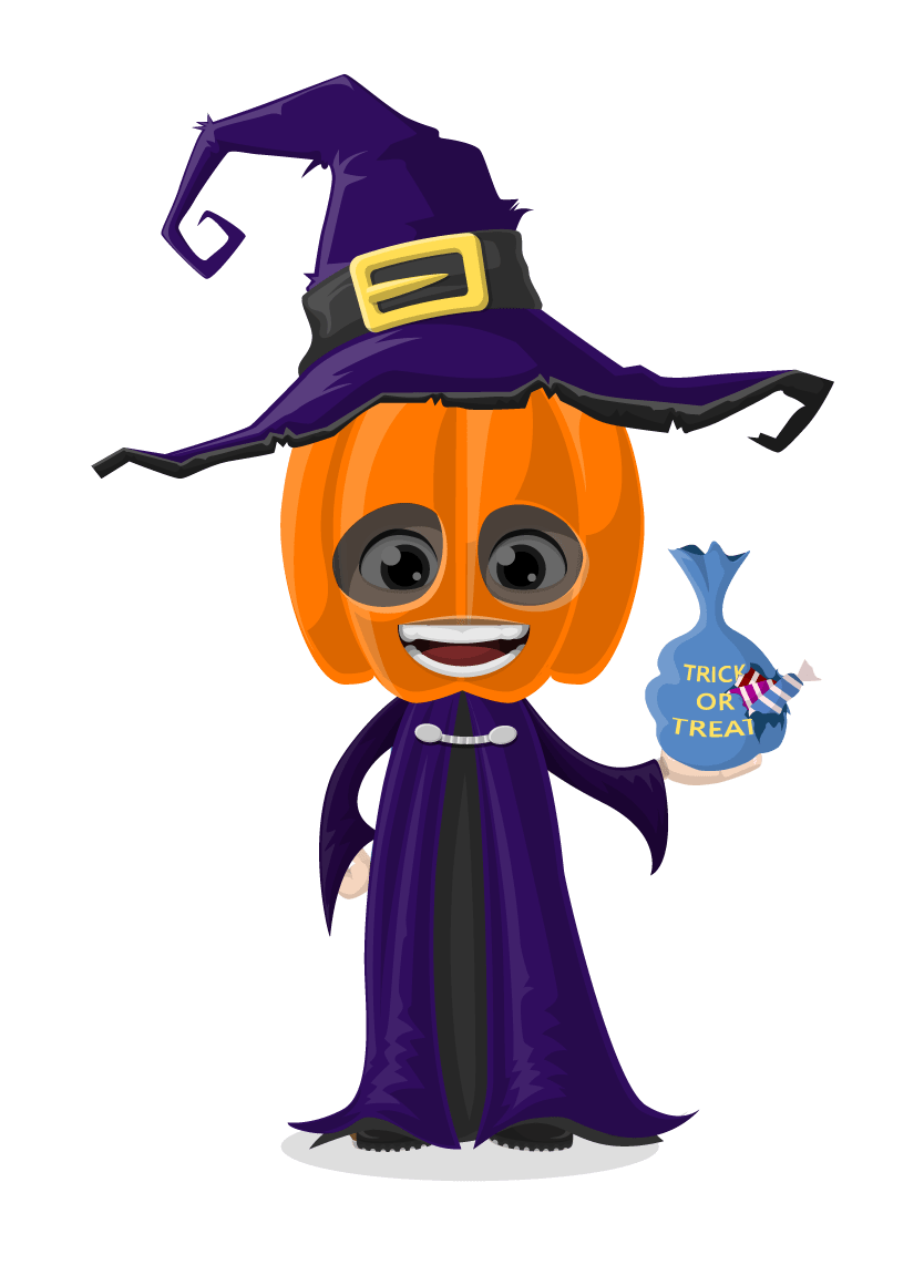 Halloween Vector Character Set Vector Characters