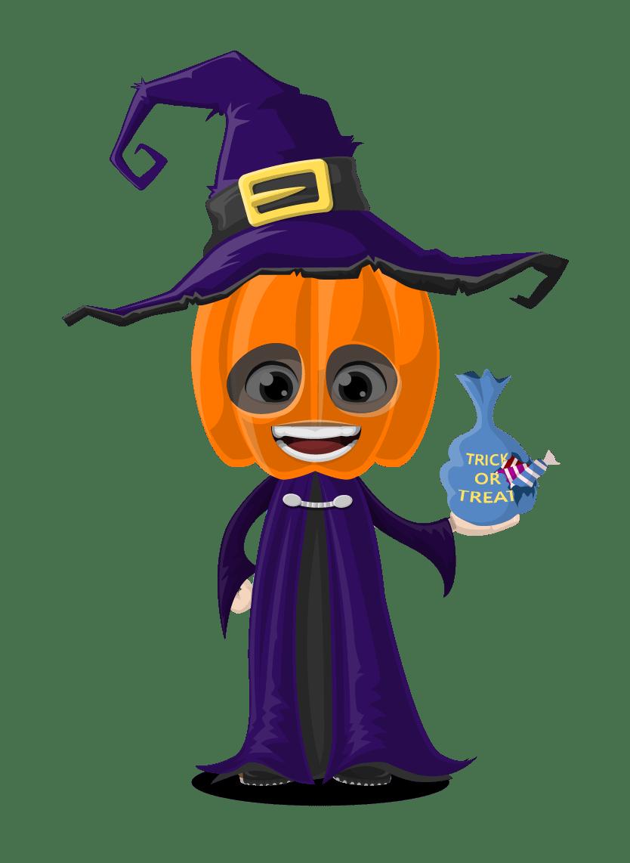 Halloween Vector Character Set - Vector Characters