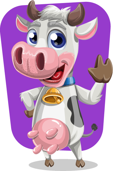 Vector-cow