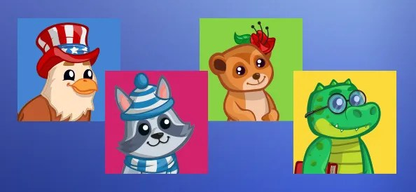 Cute Animal Avatars Pack