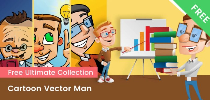 Cartoon Vector Men FREE Collection