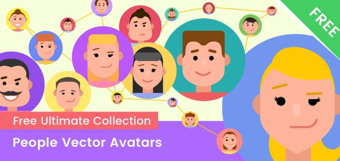 Free People Vector Avatars