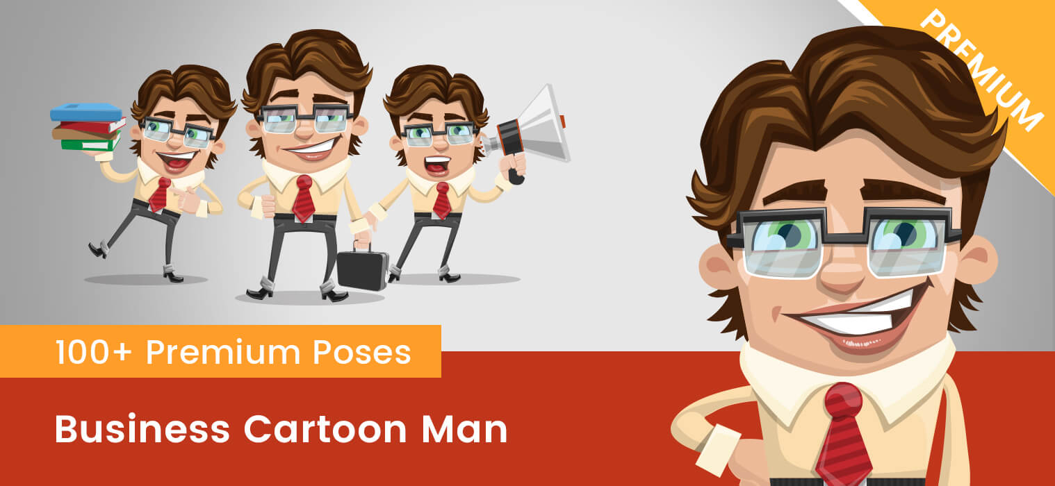 Business Cartoon Man