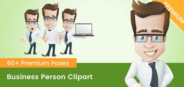 Business Person Clipart