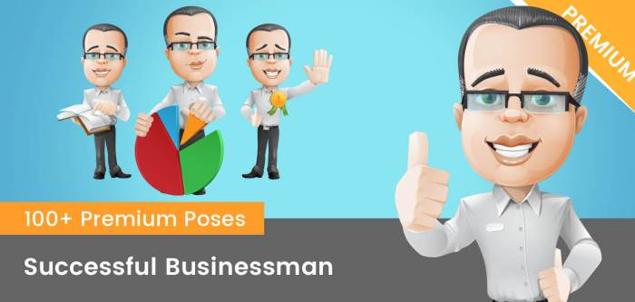 Successful Businessman Clipart
