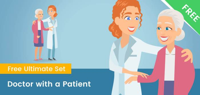 Doctor With Patient Clipart PNG