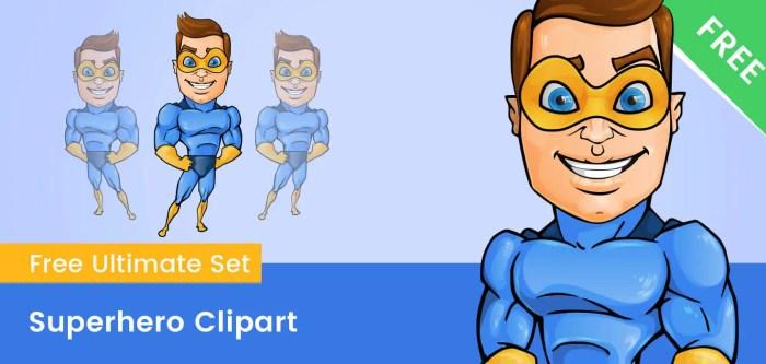 Superhero Clipart PNG