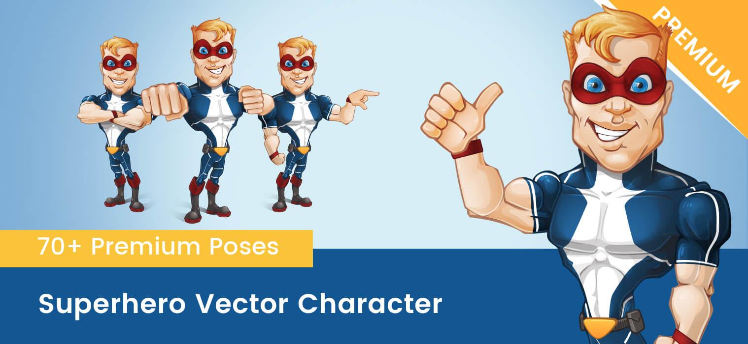 Superhero Vector Character