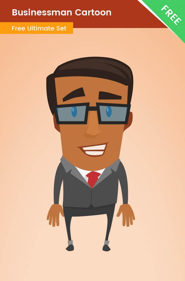 Businessman Cartoon Transparent