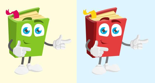 How to Change Color of Vector Image for Beginners - before and after