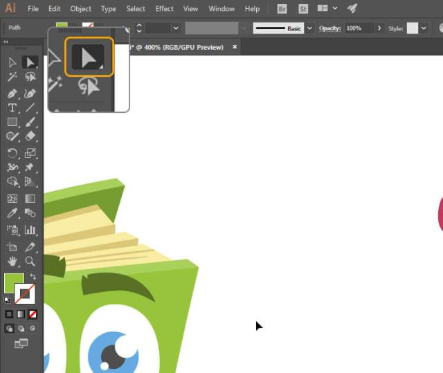 How to Change Color of Vector Image for Beginners - step 5
