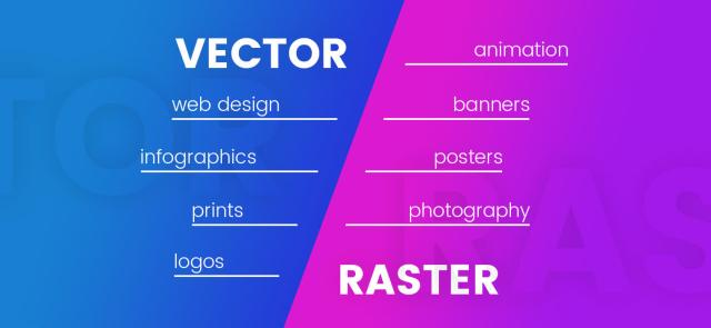 Vector VS Raster Image Usage: where to use them | VectorCharacters Blog
