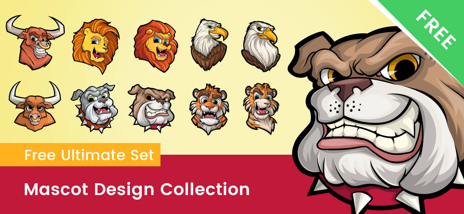 Free Mascot Design Ultimate Collection