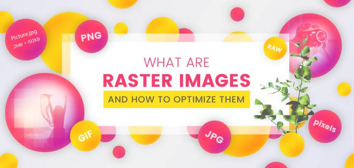 What are Raster Images and How to Optimize Them
