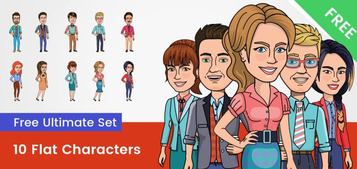 Free Vector Cartoon Characters and Illustrations