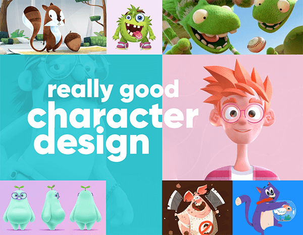 100 Really Good Character Design Examples Proving that Everything Can Become a Character