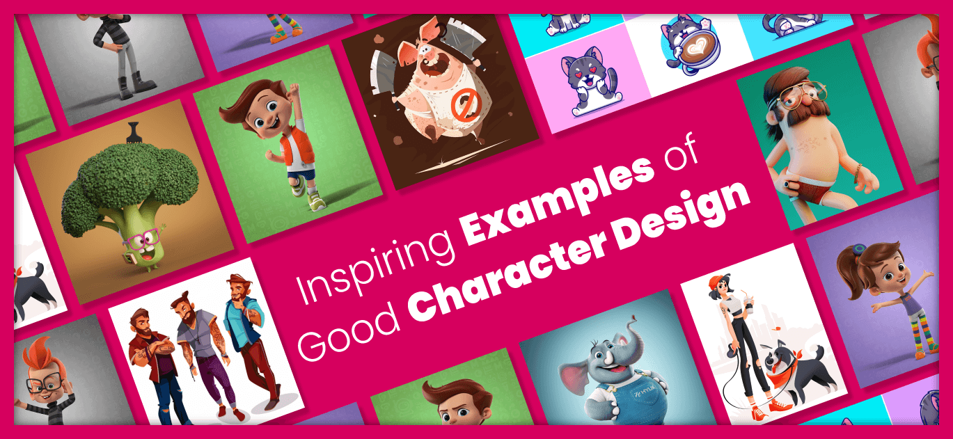 Inspiring Examples of Good Character Design