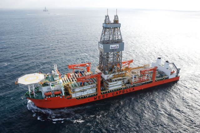 Картинки по запросу 'West Capella' drilling vessel